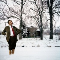 Art GAme-W-8 Winter with Mr. Bean