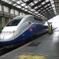 AG-W-23- SNCF-TGV-Duplex- Speed Train