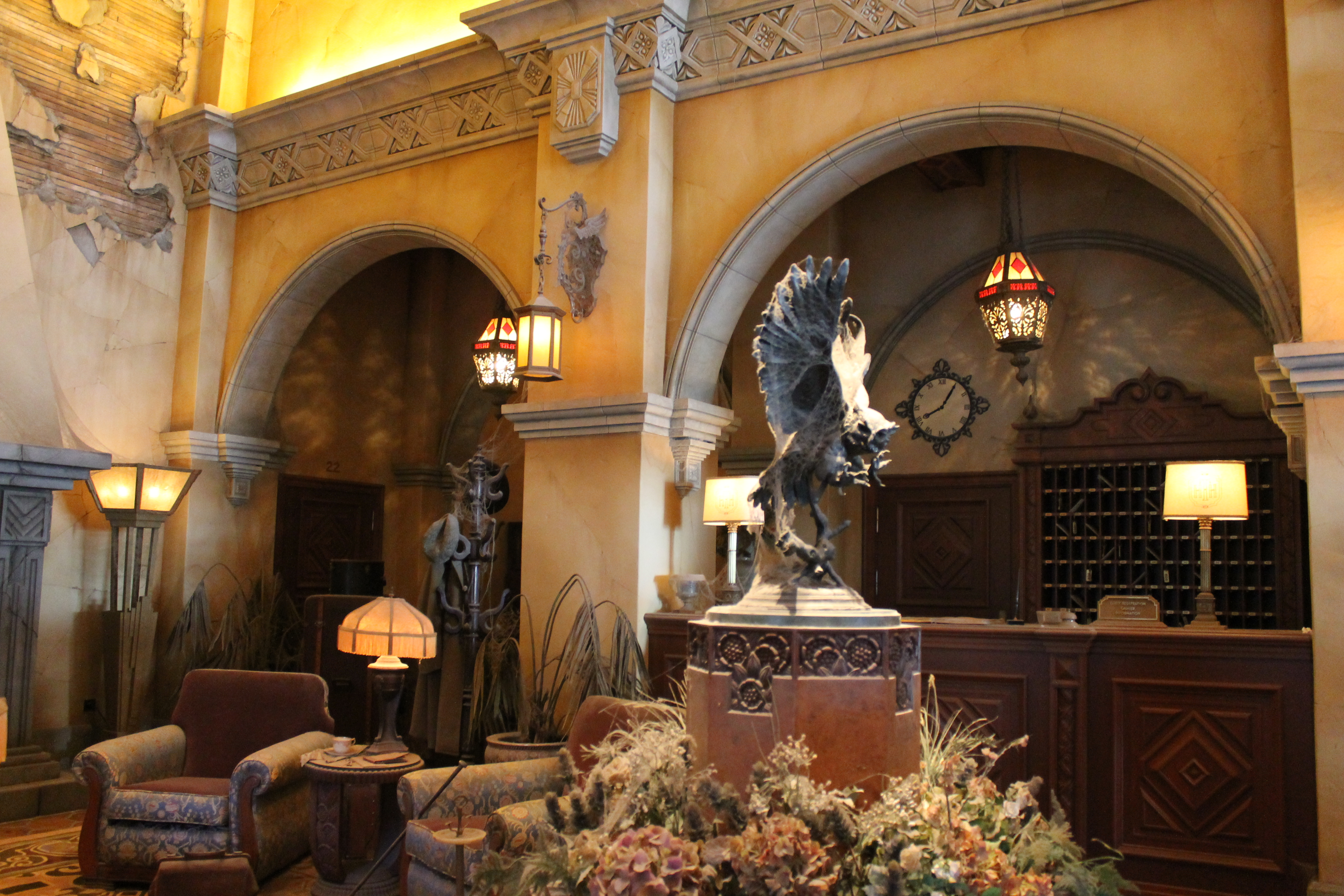 The Hollywood Tower Hotel Disneyland Paris