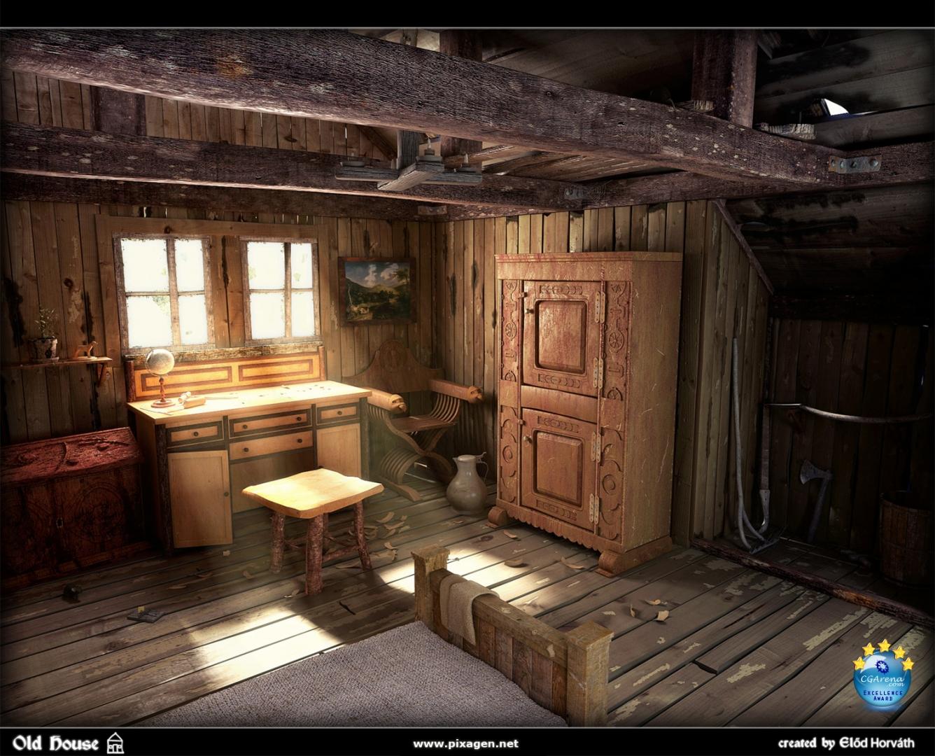 Ag W35 Old Room on Icelandic Turf House