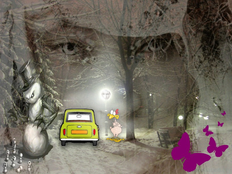 The Evil Snowman