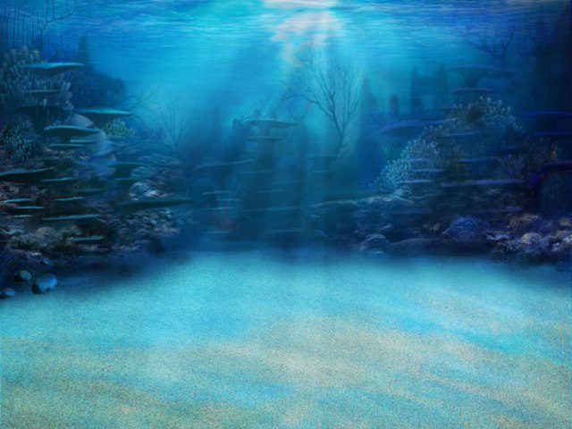 183 underwater towers background