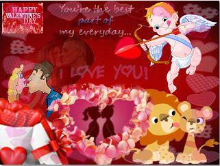 Art Game Valentine Card