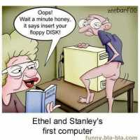 Ethel and Stanley's First Computer... Just Another Manic Monday...