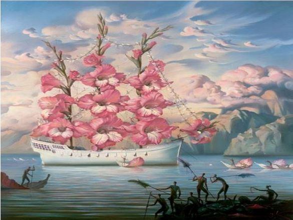 Gumamela Flower Ship