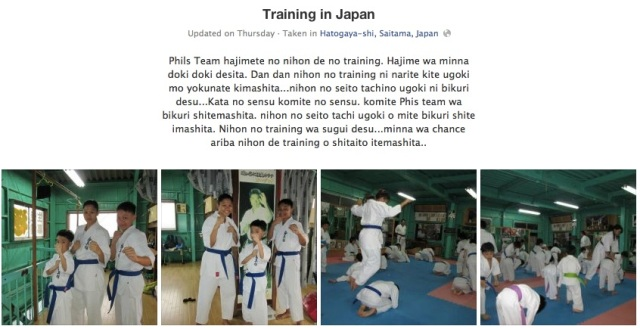 Training In Japan