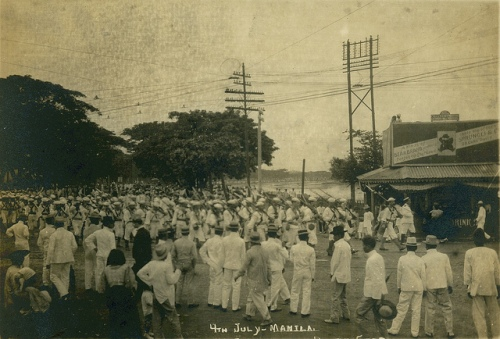 4th Of July Manila Phuilippines, circa 1905